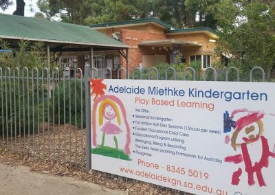 Kindy's front